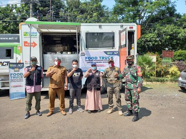 ACT Cabang Bogor Salurkan Bantuan Pada Yatim Dan Dhuafa Desa Tonjong