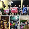 Kasat Binmas Polres Tanjungpinang Salurkan Bantuan Kepada Korban Banjir