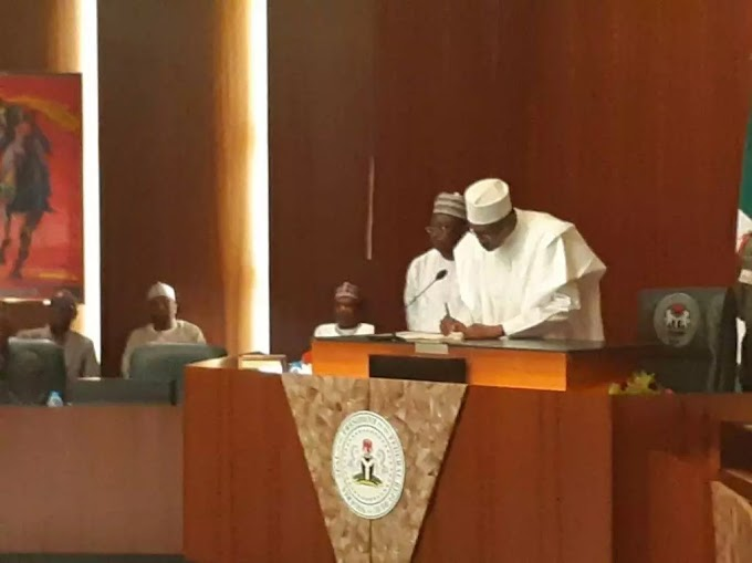 Buhari suspends Onnoghen, swears in Mohammed as acting Chief Justice of Nigeria