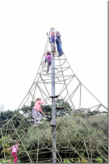 Mr S climbs