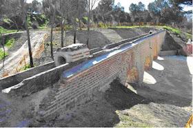 Restaurado el acueducto de Sabatini de la Casa de Campo