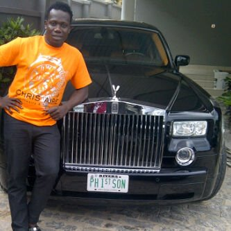 See 9 Nigerian Celebrities Who Cruise In Cars With Personalised Number Plates (Photos)