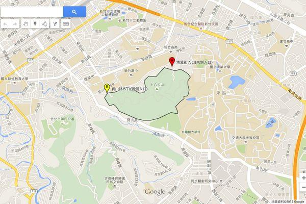 新竹東區 十八尖山公園 | 建蛋的生活軌跡