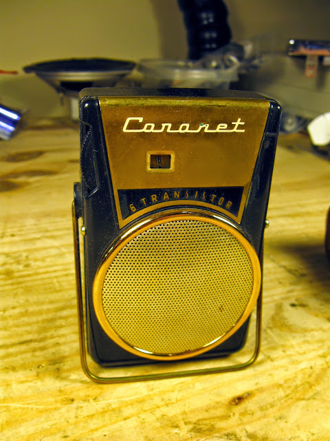 1962 Coronet 6 Transistor Shirt Pocket Radio Trn 6 Rain