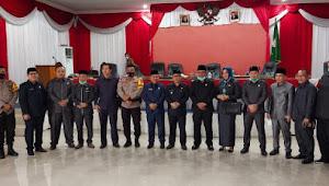 Habis Masa Bakti, DPRD Muratara Lakukan Rapat Paripurna Tentang Pengumuman Pemberhentian Bupati Dan Wakil Bupati