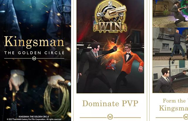 Kingsman The Golden Circle Game Ön Kayıt Yaptır