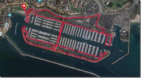 dana point harbor run 11 30