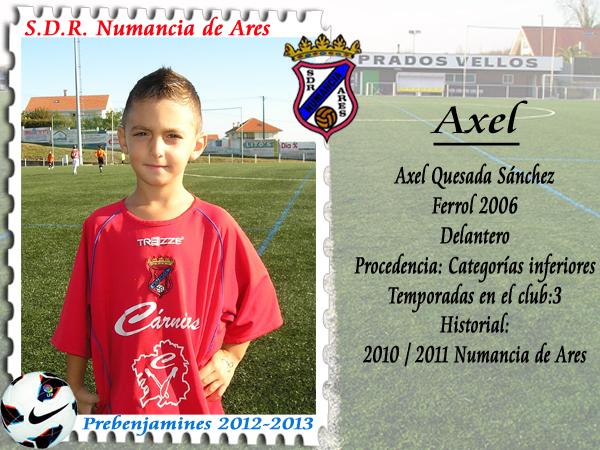 ADR Numancia de Ares. Axel.