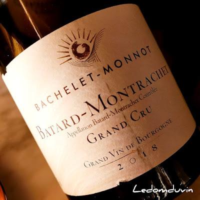 Bachelet-Monnot Bâtard-Montrachet Grand Cru 2018 by ®LeDomduVin 2021