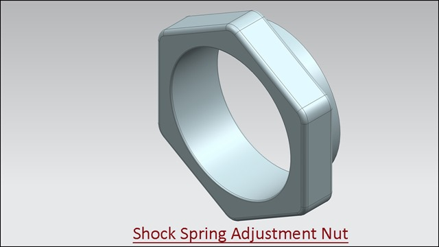 Shock Spring Adjustment Nut