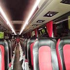 Het interieur van de Vanhool TX van Krol Reizen bus 50