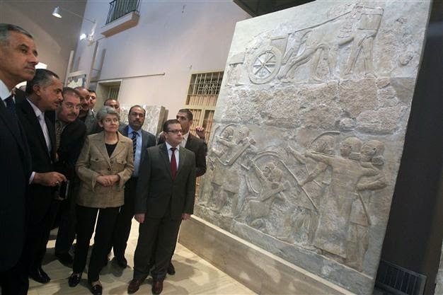 Iraq: UNESCO chief: Destruction of Iraq heritage 'barbaric'