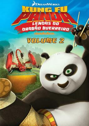 Filme Poster Kung Fu Panda: Lendas Do Dragão Guerreiro Vol.2 DVDRip XviD & RMVB Dublado