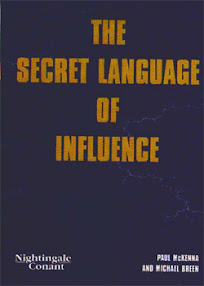 Cover of Paul Mckenna's Book The Secret Language Of Influence Manual