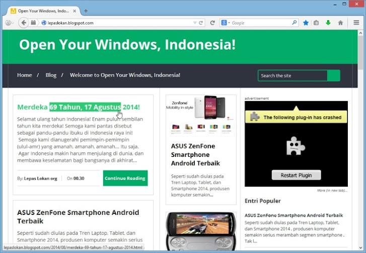 Cara Menyalin Sebagian Teks pada Tautan (Hyperlink) tanpa Harus Membuka Tautan pada Firefox