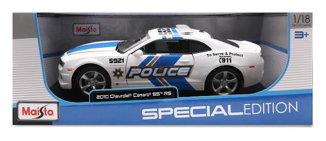 Xe mô hình Chever Camaro SS RS 2010 Maisto tỉ lệ 1/18