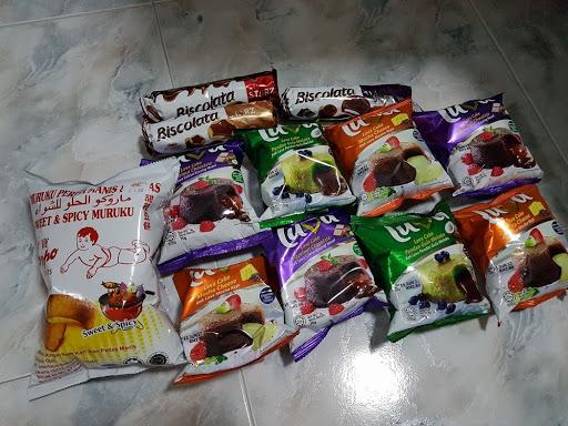 Snacks from Penang Malaysia
