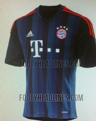 Bayern Munich away 3rd Kit 2014