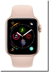 Apple Watch Series 4 with Rubber Strap