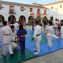 Clausura escuela judo Guadiana