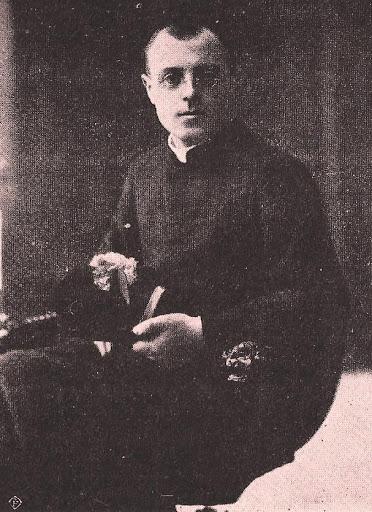 don Luigi Saretta all'arrivo a San Donà di Piave nel 1915
