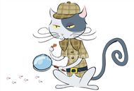 EJ Wagner, La ciencia de Sherlock Holmes Istockphoto_6087911-cat-detective_resized