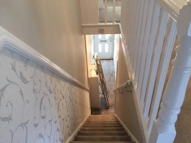 wallpaper for low ceilings