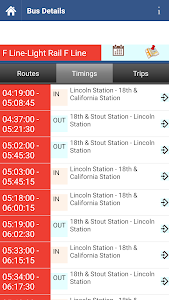 Denver Transit Info screenshot 2
