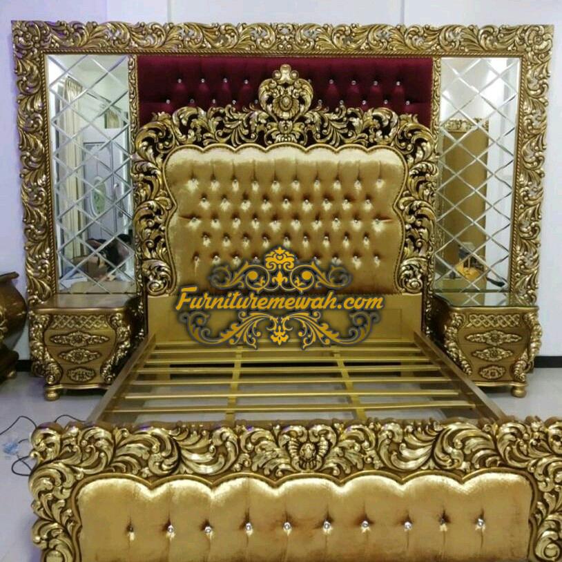Set Tempat Tidur Gold King Furniture