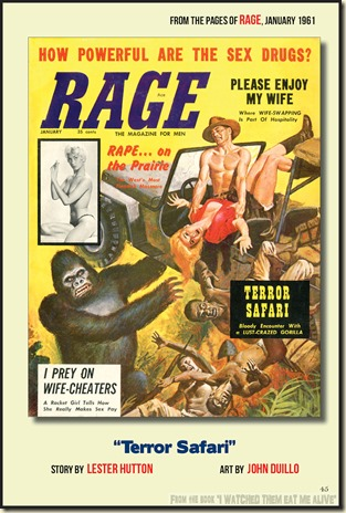 RAGE, January 1961, John Duillo cover WM