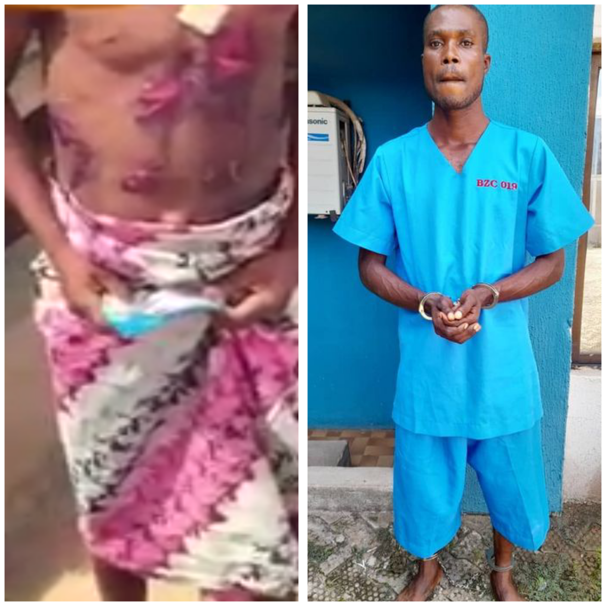 Man arrested for allegedly torturing his stepson with hot knife over N20 theft in Edo