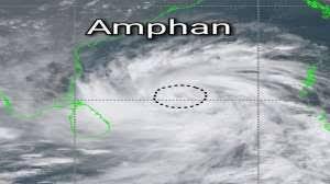 चक्रवाती तूफान अम्फान का असर : बिहार में छाये बादल, चलने लगीं तेज हवाएं, 12 जिलों के कई इलाकों में बारिश के आसार