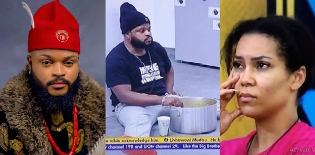 """#BBNaija2021: """"Maria assuring me that I won't be evicted is medicine after death"""" – WhiteMoney (Video)"""