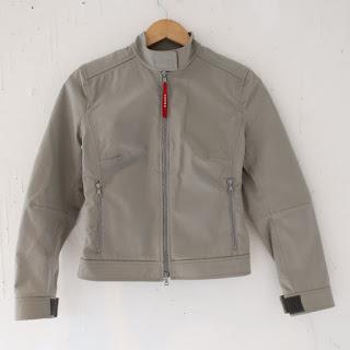 Prada Nylon Moto Jacket