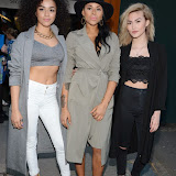 OIC - ENTSIMAGES.COM - Shereen Cutkelvin, Amira McCarthy and Asami Zdrenka at the Oasis and Victoria & Albert Museum - collection launch party London 20th April 2015  Photo Mobis Photos/OIC 0203 174 1069
