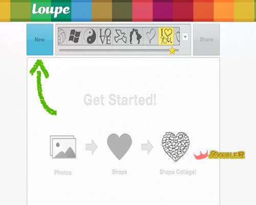 免費軟體製作系列-用LOUPE打造情人節專屬回憶!