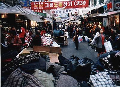 Itaewon market