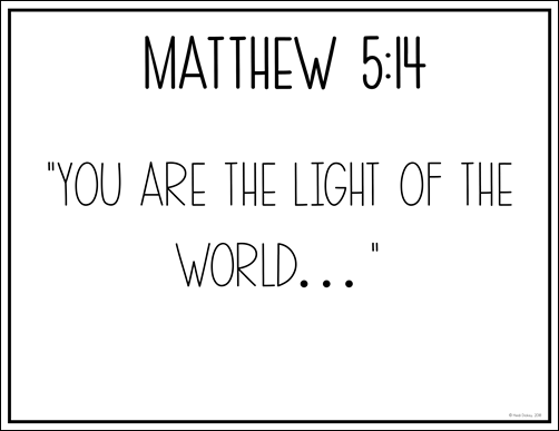Bible Verse For Space Theme