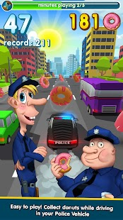 Hunger Cops 🚔 Race for Donuts- screenshot thumbnail