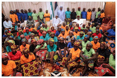 Here's what Buhari is saying about the remaining Chibok girls