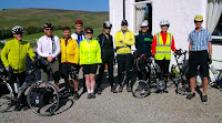 setting off from Achness on last day to Inverness