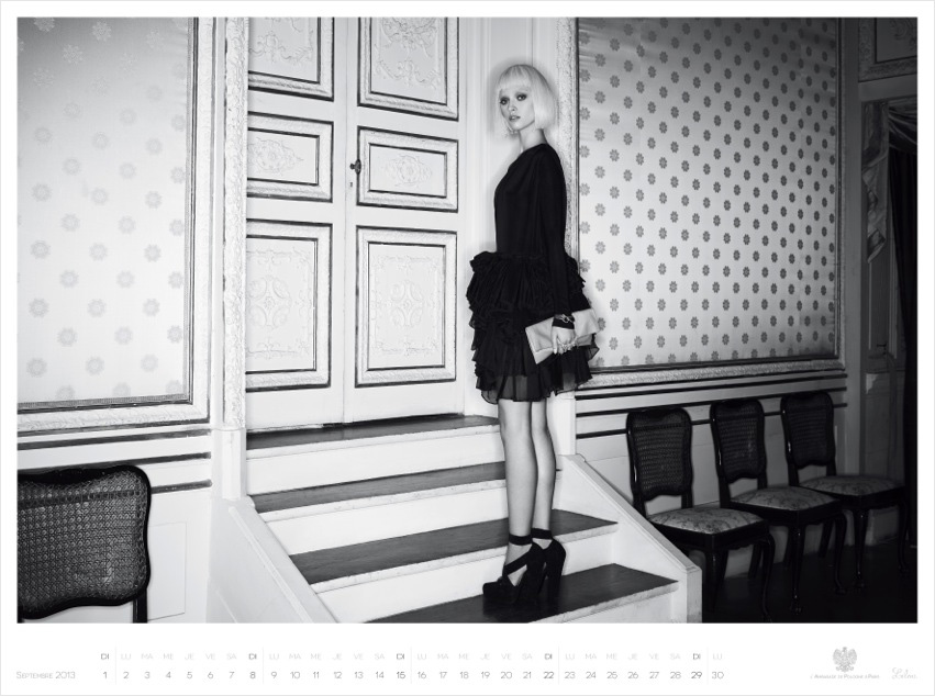 *Piotr Stoklosa 鍾情洛可可:拍攝系列 2013 Polish Embassy in Paris年曆! 2