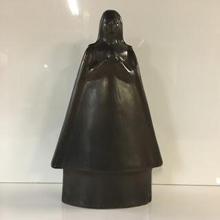 South American Ceramic Figurine
