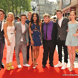 OIC - ENTSIMAGES.COM - Tyger Drew-Honey, Molly Rainford, Richard Risker, Dionne Bromfield Ethan Lawrence, George Sear and Louisa Connelly-Burnham at the UK premiere of Up All Night at at Vue Leicester Square London 10th May 2015  Photo Mobis Photos/OIC 0203 174 1069