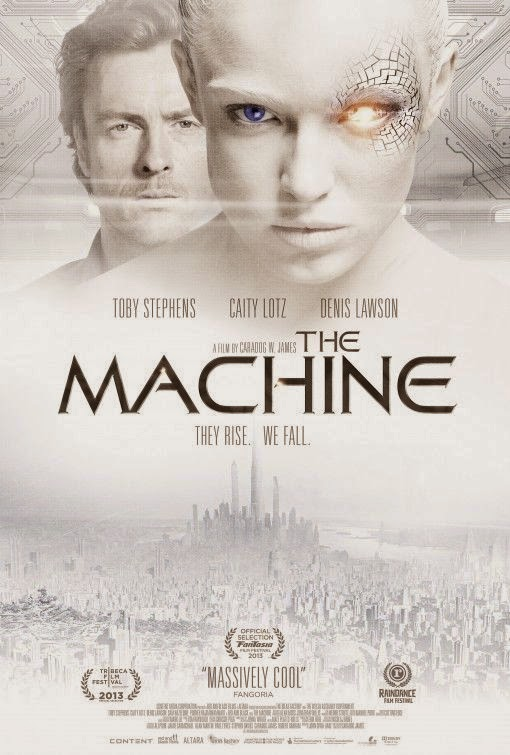 Poster Of English Movie The Machine (2013) Free Download Full New Hollywood Movie Watch Online At Alldownloads4u.Com