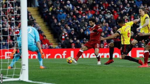 Mo Salah Scores Four Goals As Liverpool Beat Watford 5-0 In The Premier League