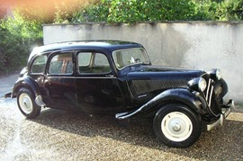 Citroen Traction 11 familiale 1953
