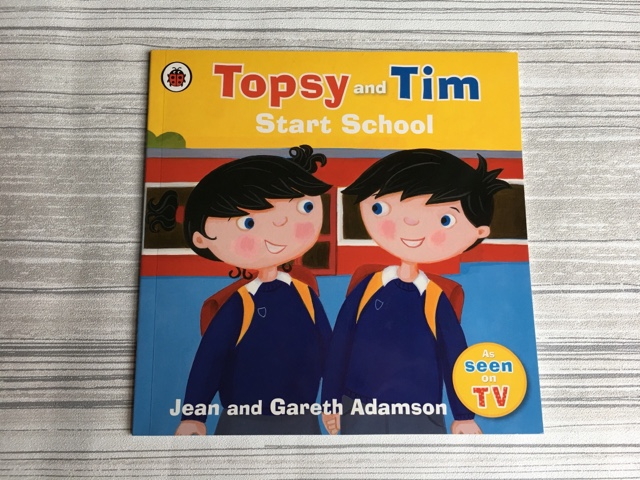 topsy and time start school book