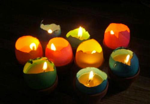 How To Make Candles In Egg Shells