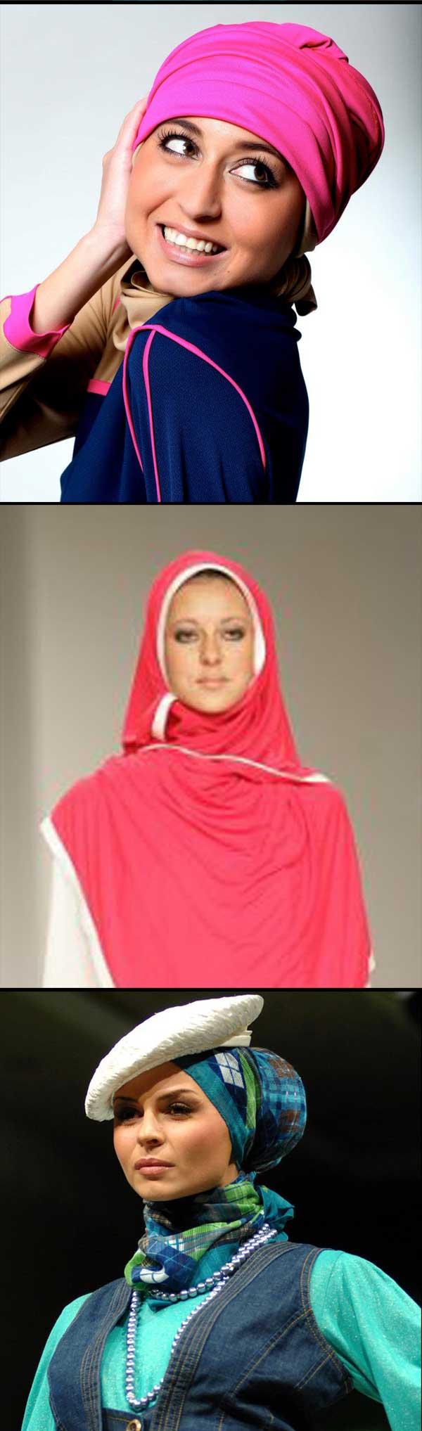 Gambar Koleksi Fesyen Hijab Terkini Dari Dubai Untuk Muslimah Aktif